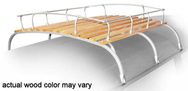 Dachgepäckträger Classic Aluminium poliert | T1 | T2