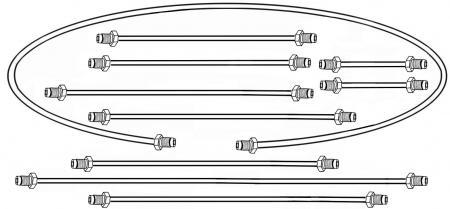 Bremsleitungssatz Zweikreisbremse | T1 1/57»