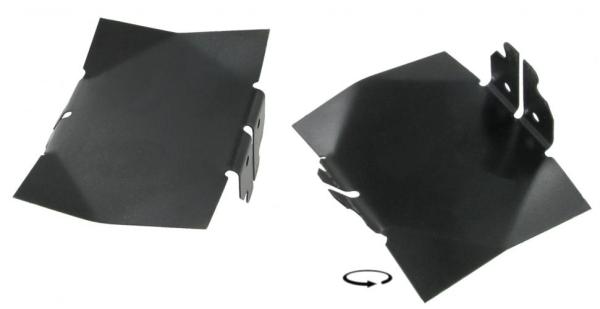 Luftleitbleche Kühlungsluft 10mm | T1 1.5 | T2 1.6