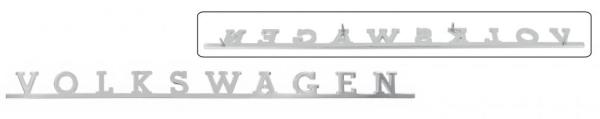 Emblem Volkswagen Heckklappe