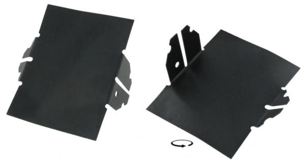Luftleitbleche Kühlungsluft 8mm   T1 1.5   T2 1.6
