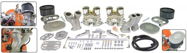 Doppelvergaser Ultra-Set EMPI HPMX 40mm Typ 1 Motoren