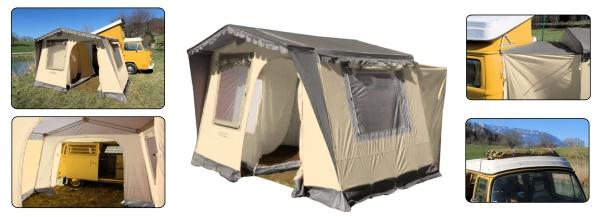 Camping Vorzelt freistehend |T1 |T2 |T3
