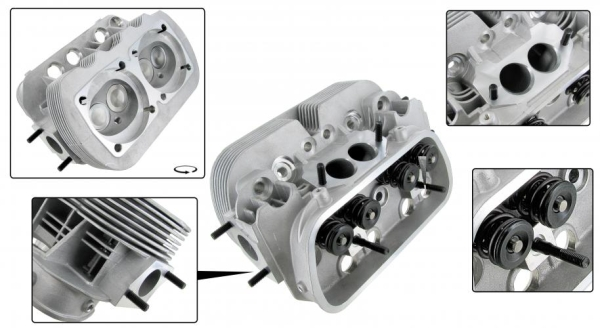 Zylinderkopf GTV-2 Big Bore 101mm | T2 1.6 | T3 1.6