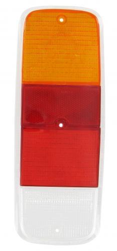 Glas Rücklicht orange / rot / klar | T2 8/71»