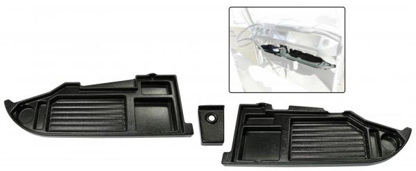 Gepäckhalter / Ablage Kunststoff schwarz | T2