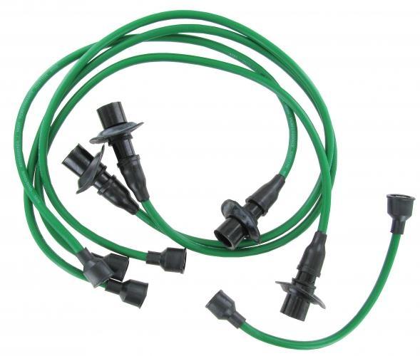 Zündkabel Set T1 / T2 Standard B-Qualität grün