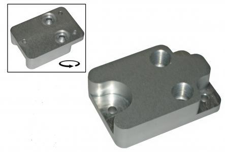 Adapter Ölkühler CA / AP / CJ / CU Motoren