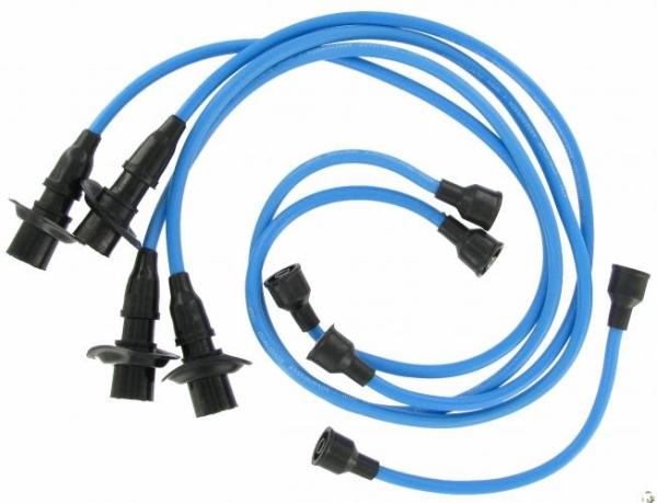 Zündkabel Set T1 / T2 Standard B-Qualität blau