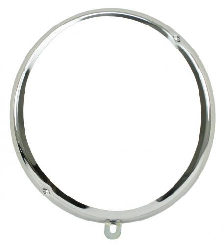 Scheinwerferring Chrom Stahl | T1 5/60»