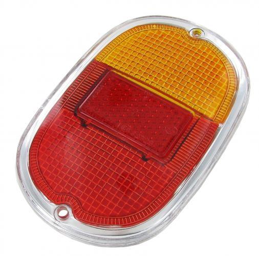 Glas Rücklicht orange / rot B-Qualität | T1 8/61» | T2 »7/71