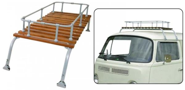 Dachgepäckträger Classic grau lackiert | T1 | T2