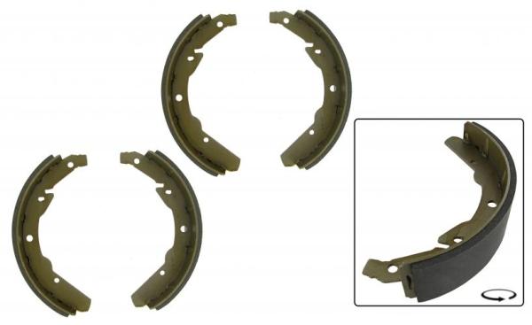 Bremsbacken hinten | 55 mm | T2 8/70»7/71