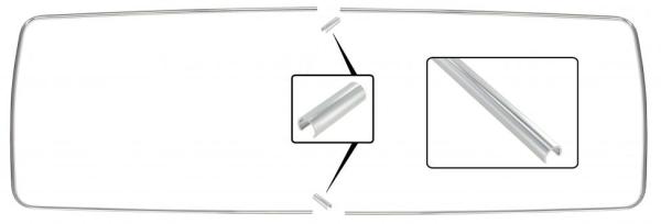 Zierleiste Seitenfenster Mitte ohne Ausstellfenster | T2 »7/71