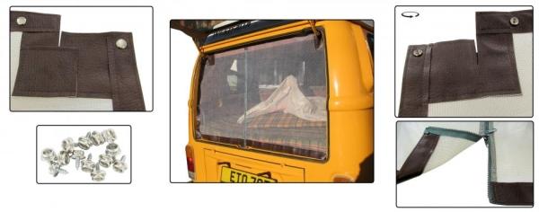 Insektennetz Heckklappe mit Reißverschluss | T2