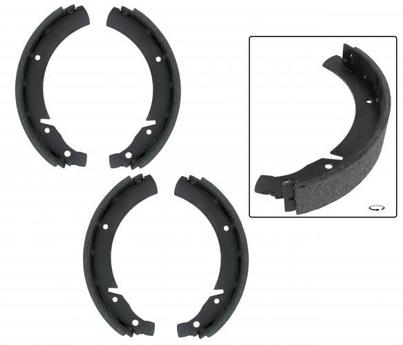 Bremsbacken hinten | 40 mm | T1 »7/63