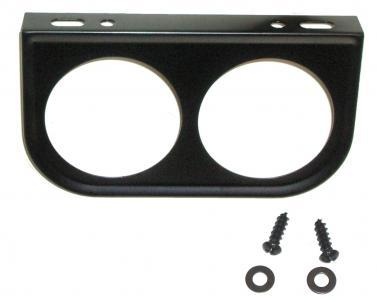 Montageplatte Instrumente Armaturenbrett 2x52mm