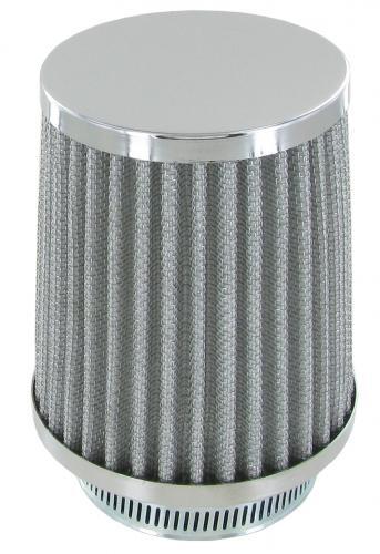 Luftfilter Chrom Solex Standard / Weber ICT / EMPI EPC 34 rund POD-Style