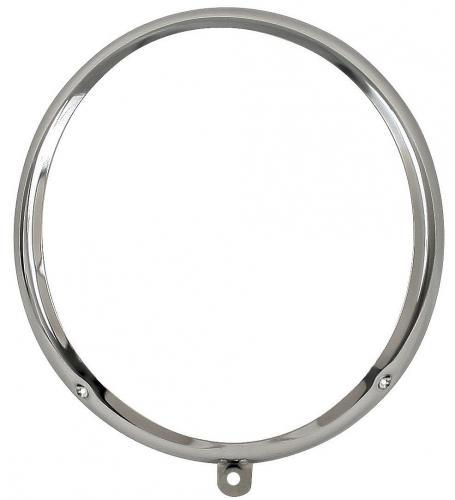 Scheinwerferring Chrom Stahl | T1 »4/60