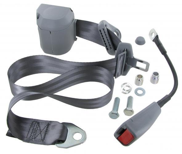 Sicherheitsgurt 3-Punkt-Gurt grau | T3