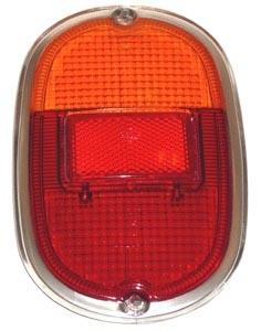 Glas Rücklicht orange / rot A-Qualität | T1 8/61» | T2 »7/71