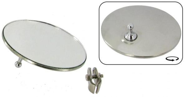 Rückspiegel links/rechts Edelstahl B-Qualität   T1