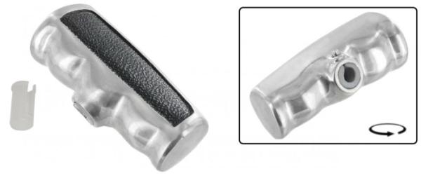 Schaltknauf T-Griff Aluminium