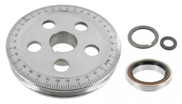Riemenscheibe Aluminum 146mm mit Wellendichtring