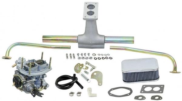 Registervergaser Set Weber DFEV 32/36 Typ 1 Motoren