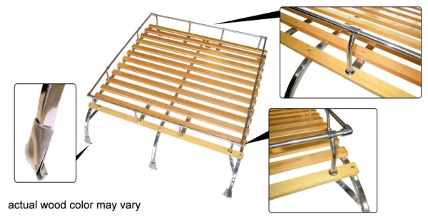 Dachgepäckträger Classic Edelstahl | T1 | T2
