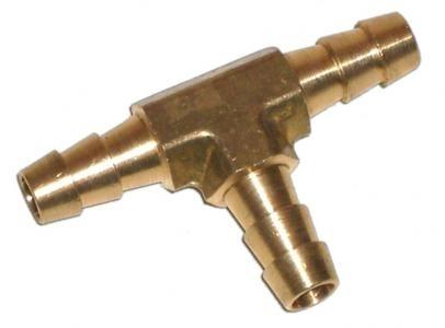 Verbindung Kraftstoffschlauch T-Stück Messing