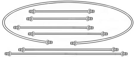 Bremsleitungssatz   T1 »3/55