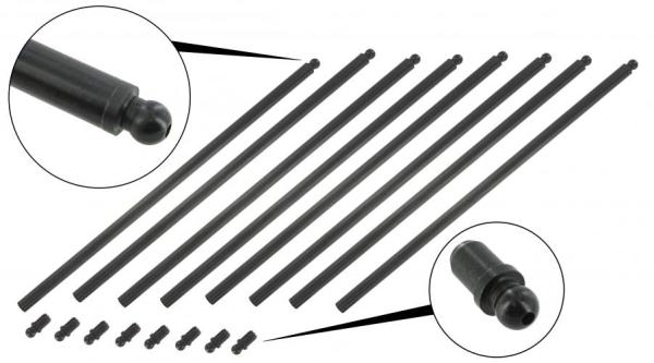 Stößelstangen ungeschnitten Chrommolybdän | T1 | T2 | T3 WBX