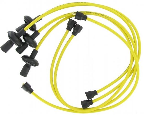 Zündkabel Set T1 / T2 High Performance 7mm gelb