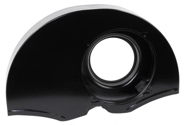 Gebläsegehäuse Oldie Stil schwarz ohne Heizöffnung