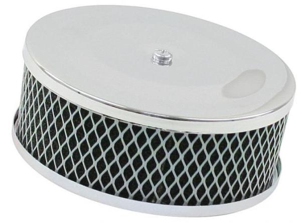 Luftfilter Chrom Solex Standard perforiert