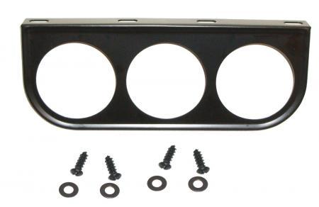 Montageplatte Instrumente Armaturenbrett 3x52mm