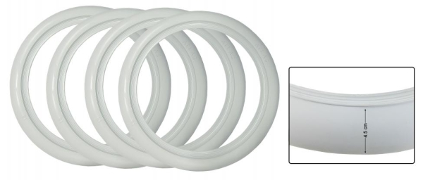 Weißwandringe 15 Zoll | 4.5 weiß