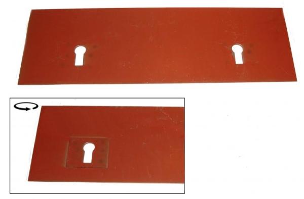 Montageplatte Mittelsitz | T1
