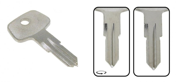 Schlüsselrohling E | Z | D | V | F