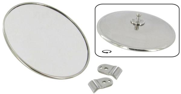 Rückspiegel links/rechts Edelstahl A-Qualität | T1