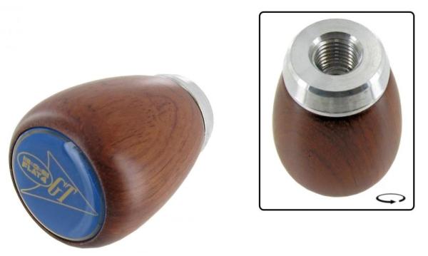 Schaltknauf FLAT4 GT Palisanderholz | T2 | T3