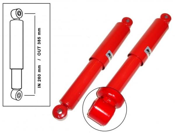 Stoßdämpfer einstellbar | T1 vorne