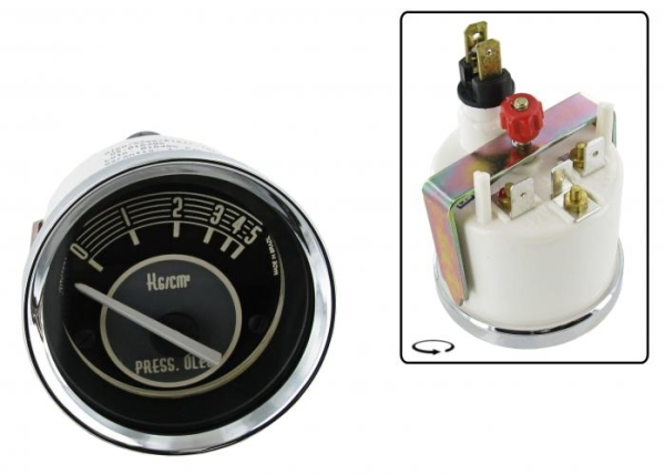 Öldruckanzeige Cronomac 5 Bar