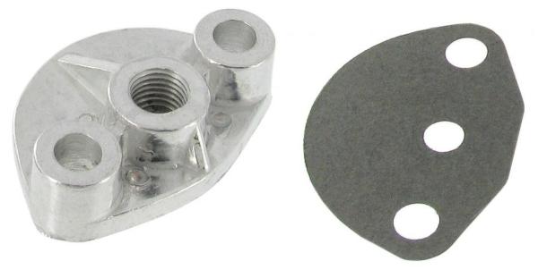 Abdeckung Flansch Kraftstoffpumpe Aluminium