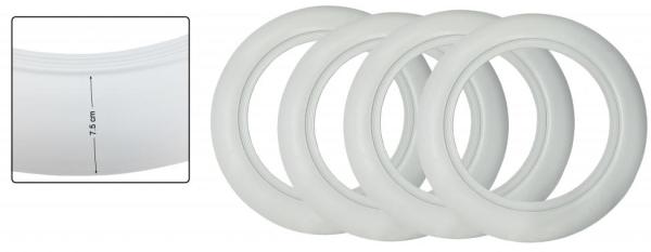 Weißwandringe 15 Zoll | 7.5 weiß